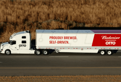 otto self-driven beer truck