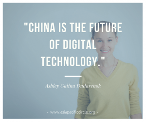 "Digital transformation: ""China is the future of digital technology"" Ashley Galina Dudarenok"